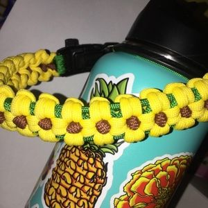Sunflower Paracord Safety Handle Wide Mouth Hydro